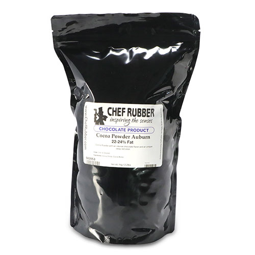 Chef Rubber Auburn Cocoa Powder