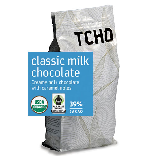 Tcho 39% Milk Chocolate Discs