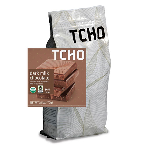 Tcho 54% Milk Chocolate Discs