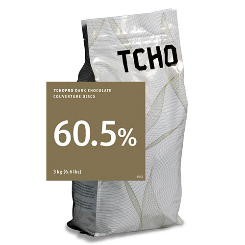 Tcho 60.5% Dark Chocolate Discs