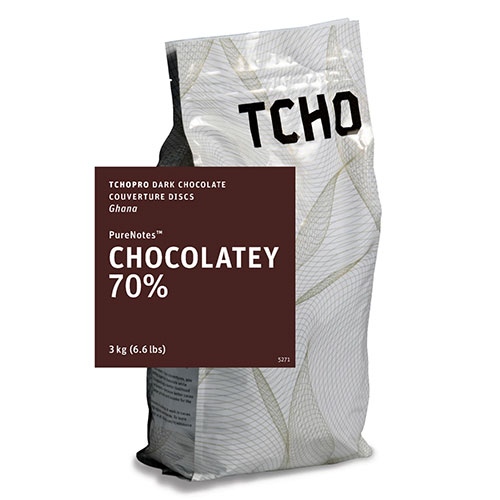 Tcho 70% dark chocolate discs