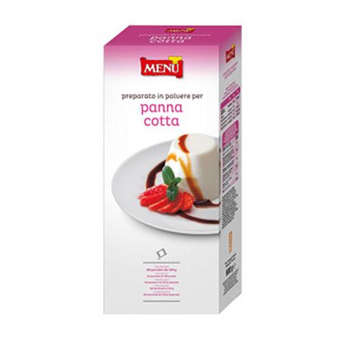 menu panna cotta