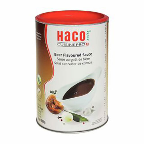 Haco beer flavored sauce