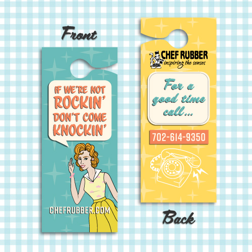 chef rubber door hangers