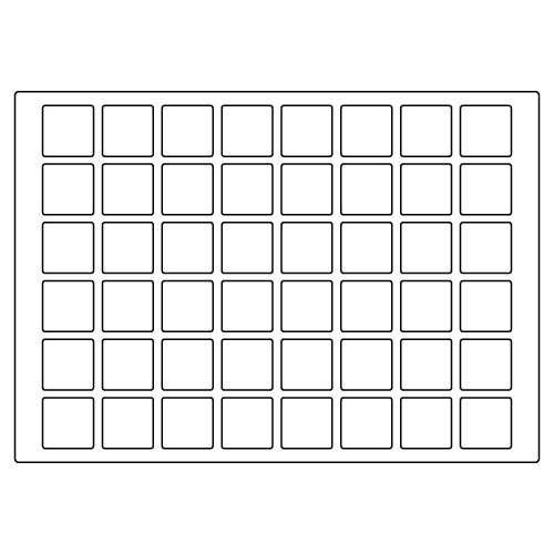 square template layout