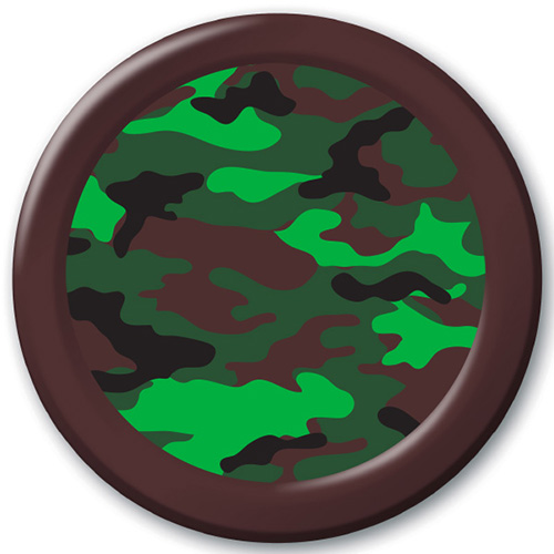 Green Camo Transfer Sheet