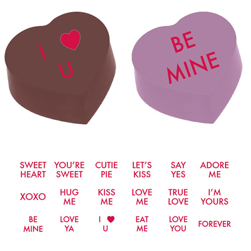 Valentine S Day Sayings Magnetic Red 905025s