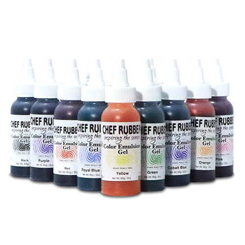 color emulsion gel kit