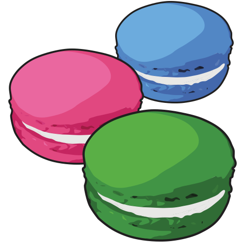 Color for Macarons